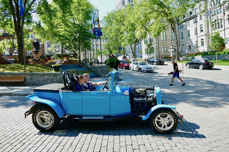 Les rues de Québec