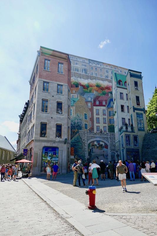Fresque quartier Champlain
