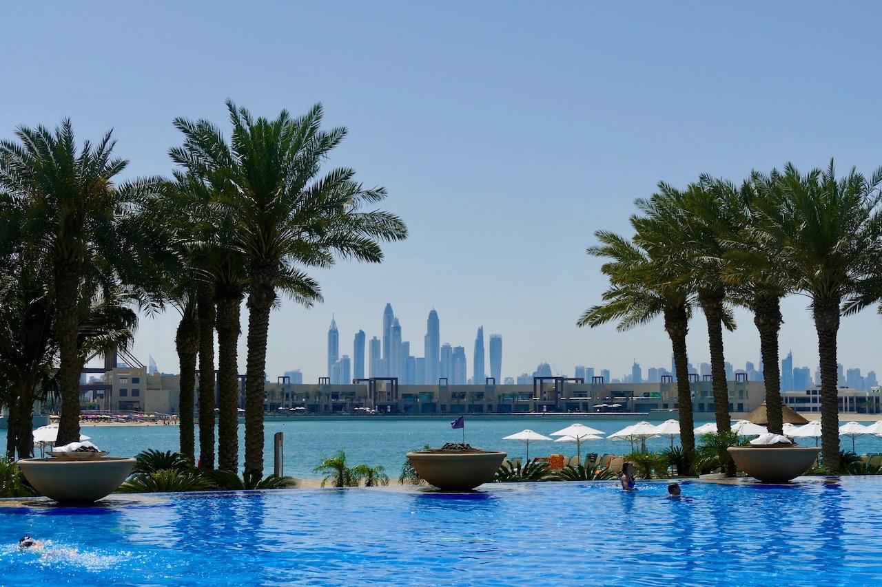 Piscine de l'hôtel Atlantis Dubaï