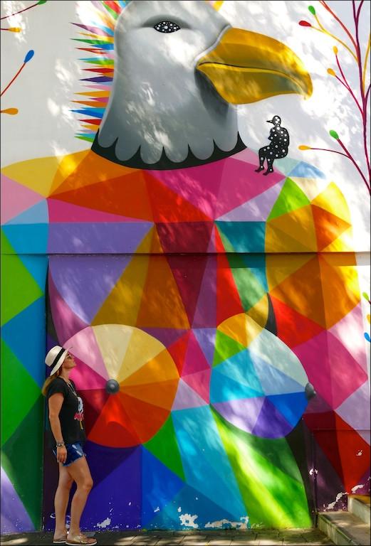 Street art à Papeete