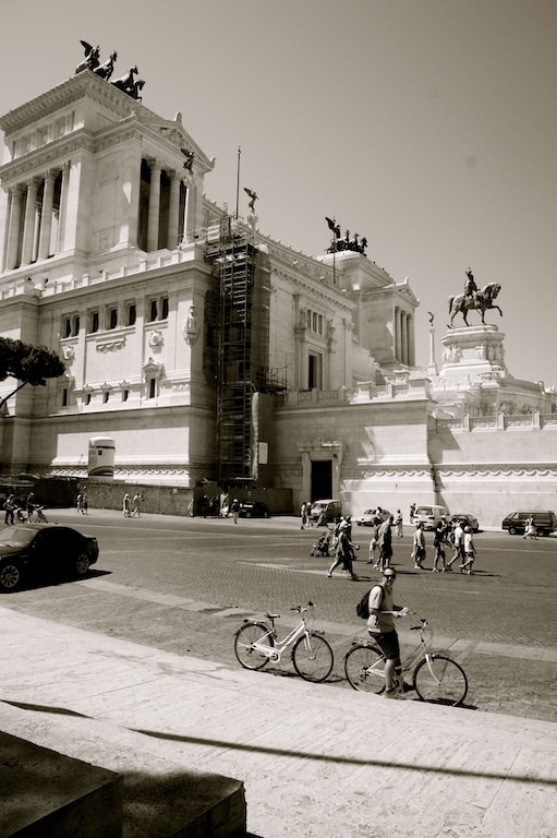 Piazza de Venezia à rome