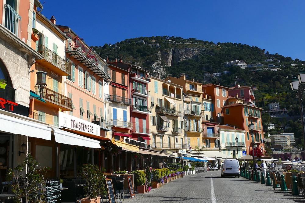restaurants du front de mer à Villefranche-sur-mer