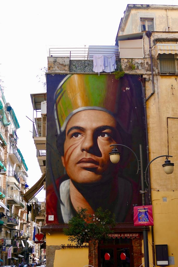 Fresque à Naples