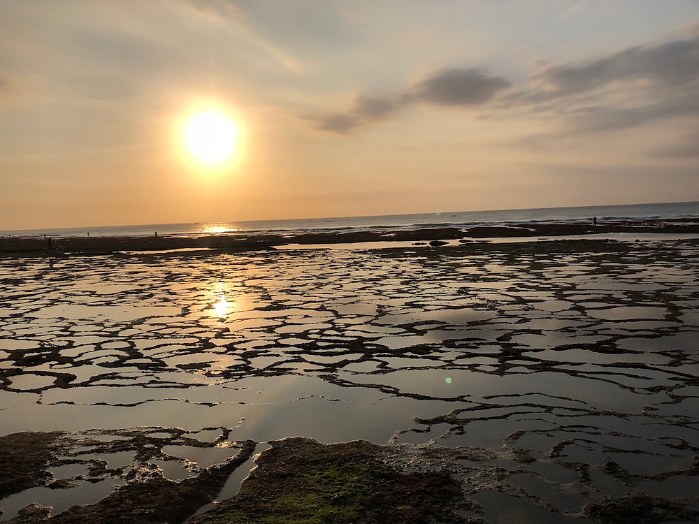 Coucher de soleil à Jimbaran