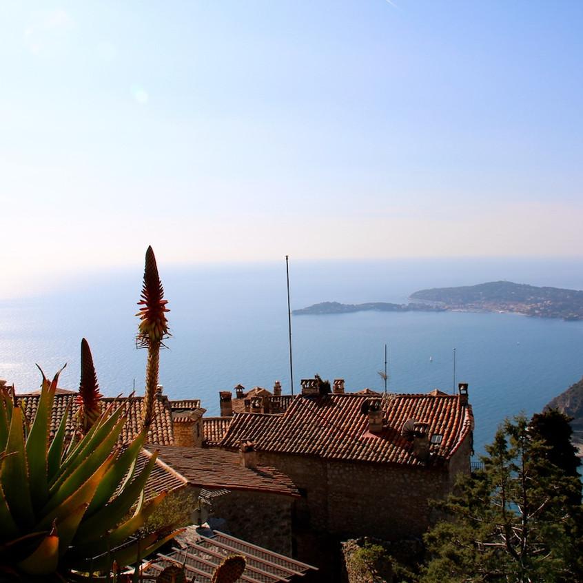 Vue panoramique d'Eze