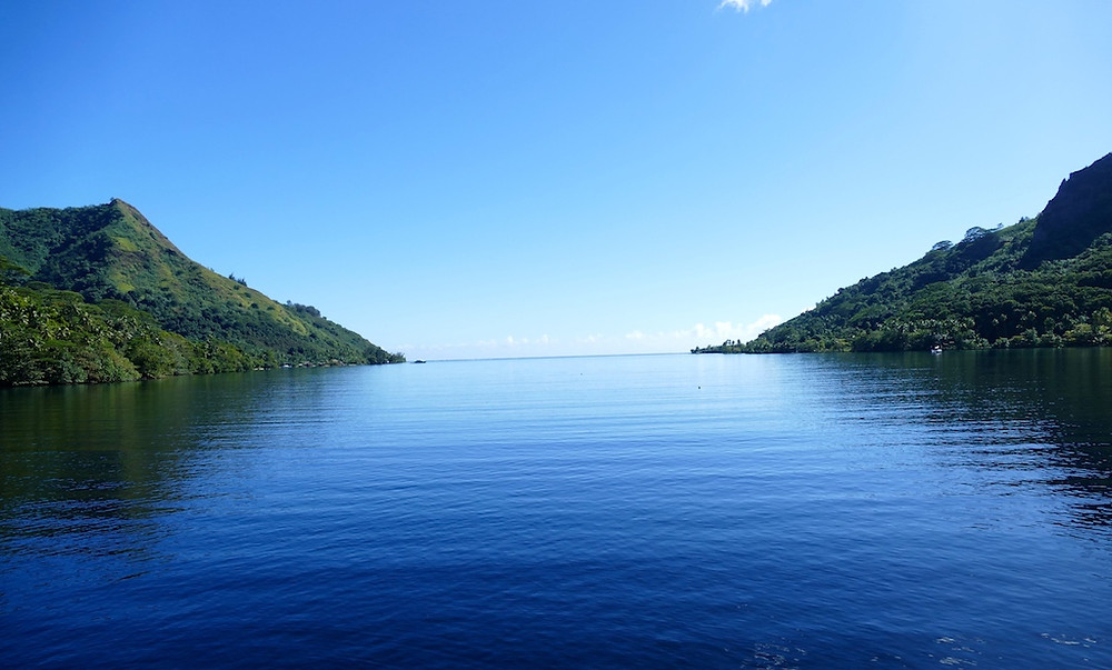La baie d'Opunohu