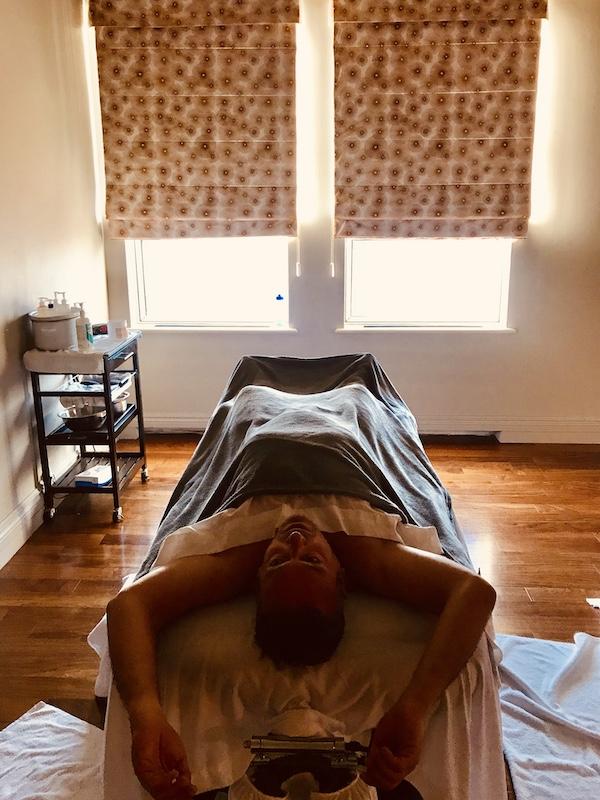 Massage au Château Fairmont