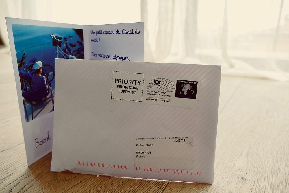 Mypostcard : Appli de cartes postales