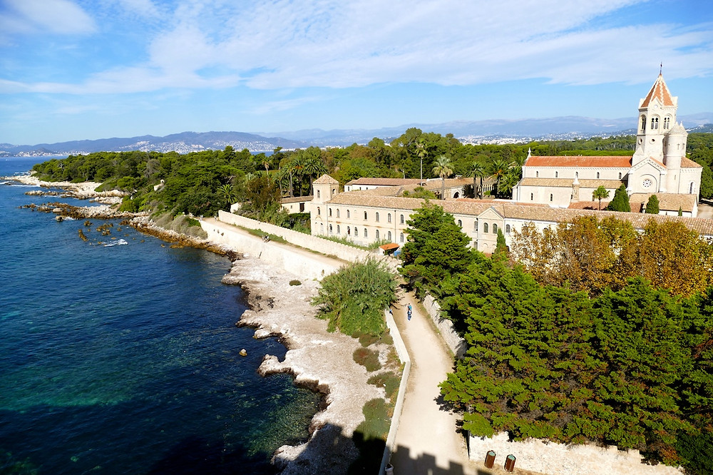 Monastère de l'île de Saint-Honorat près de Cannes