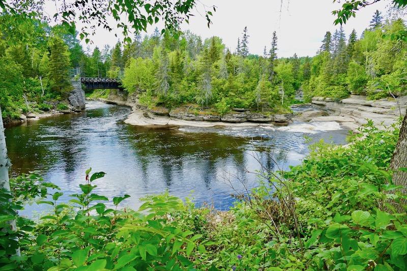 Les cours d'eau de Val-Jalbert