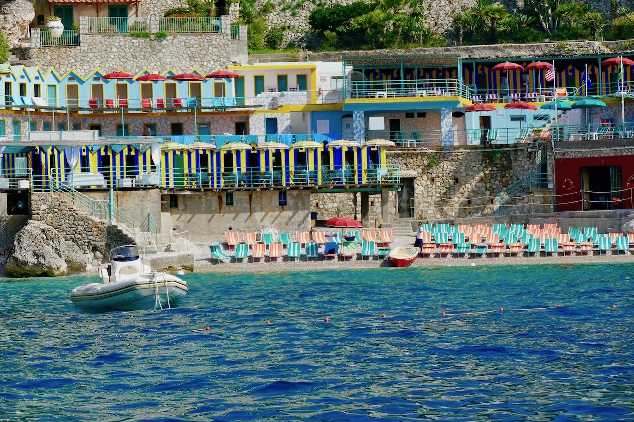 Les plages de Capri