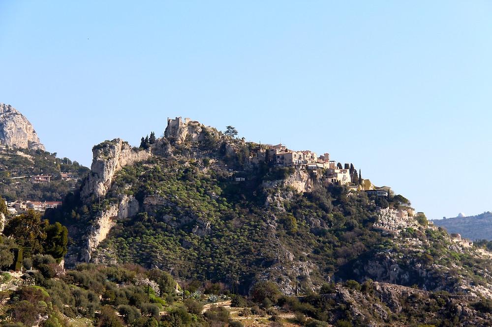 Village d'Eze entre Nice et Monaco
