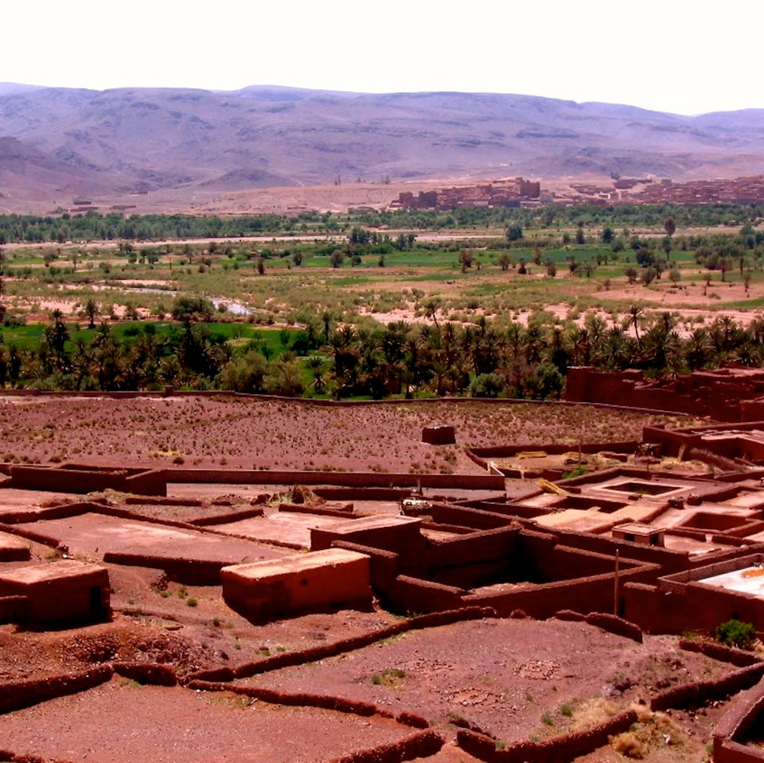 village de l'Atlas