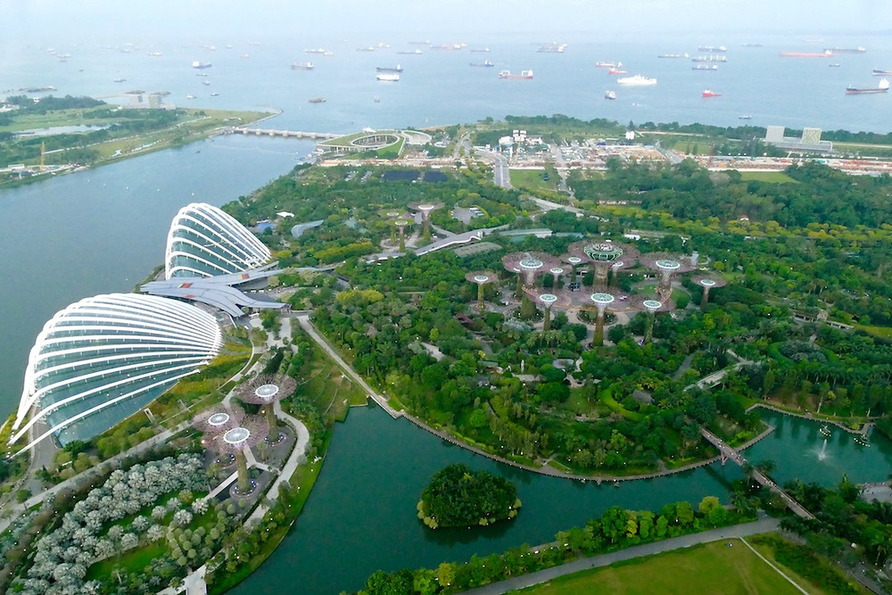 Vue de Garden by the bay