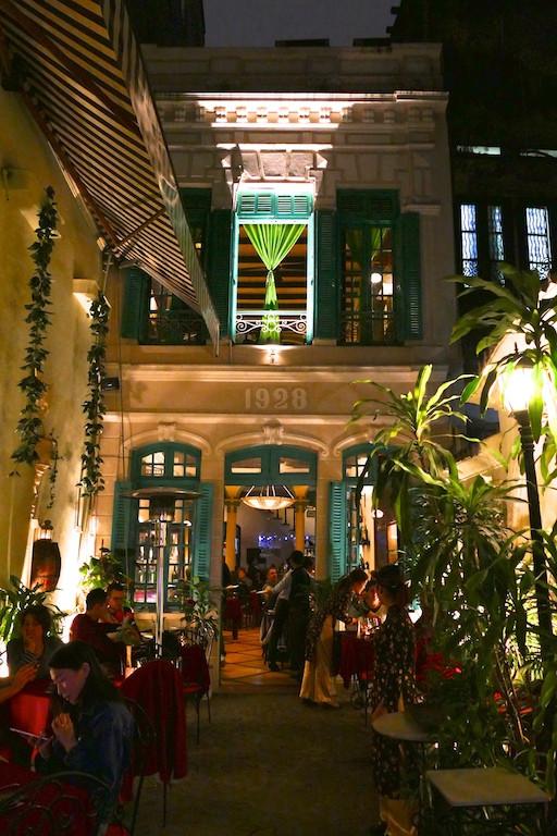 Restaurant green tangerine à Hanoï