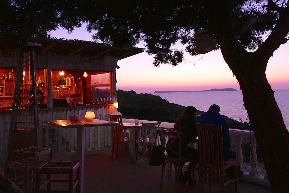 Coucher du soleil Hostel de la Torre Ibiza