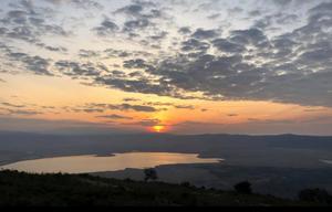    vue du  Ngorongoro Serena Lodge