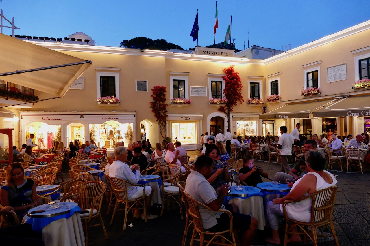 La place de Capri