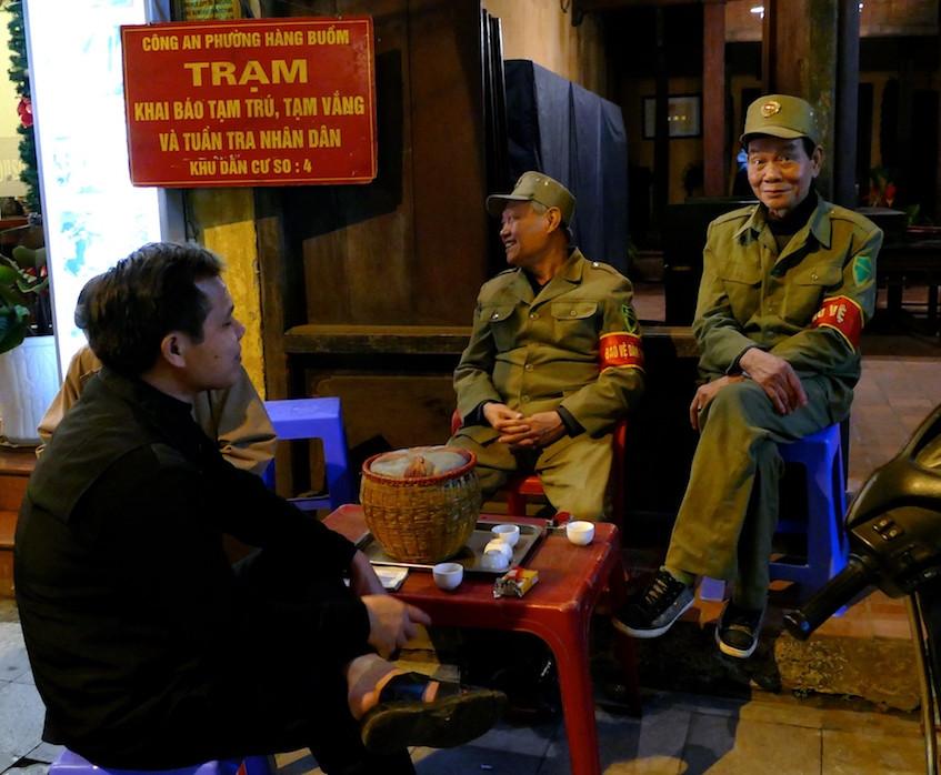 La vie nocturne à Hanoï