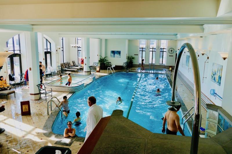 piscine du Château Fairmont