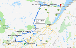 Road-trip à Quebec
