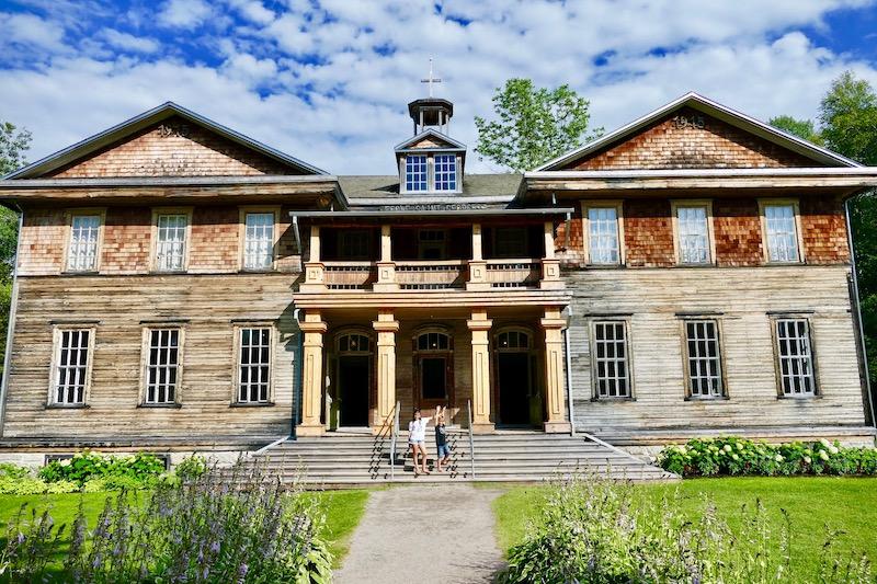L'école restaurée de Val-Jalbert