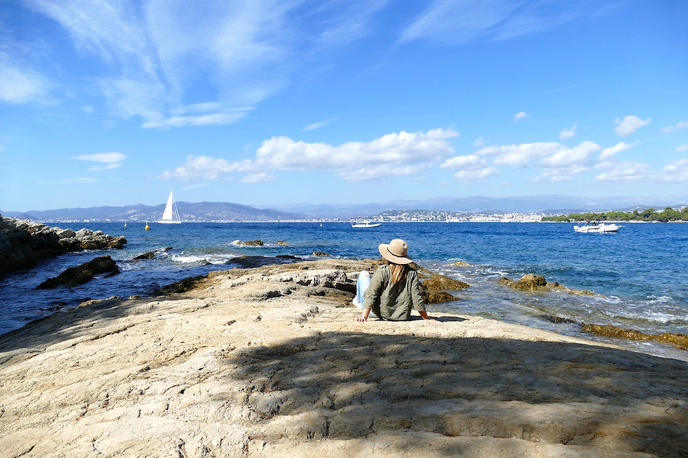Ile de Saint-Honorat au large de Cannes