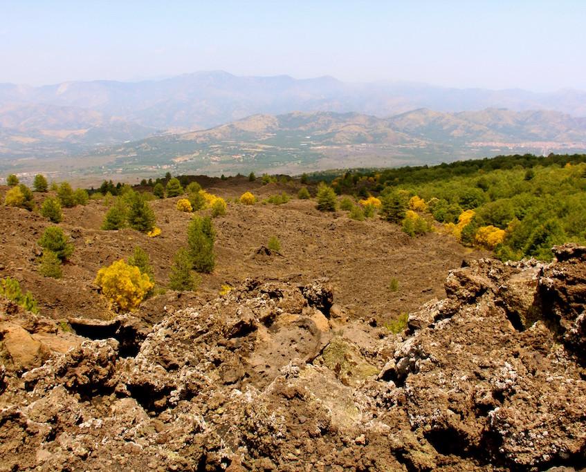 Quad sur les pentes de l'Etna