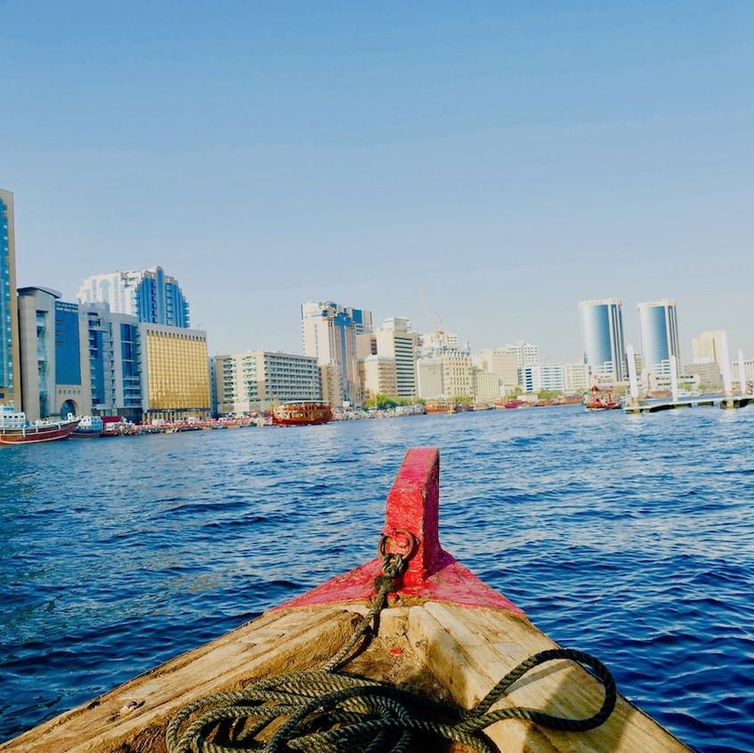 Balade en bateau à Dubaï Creek
