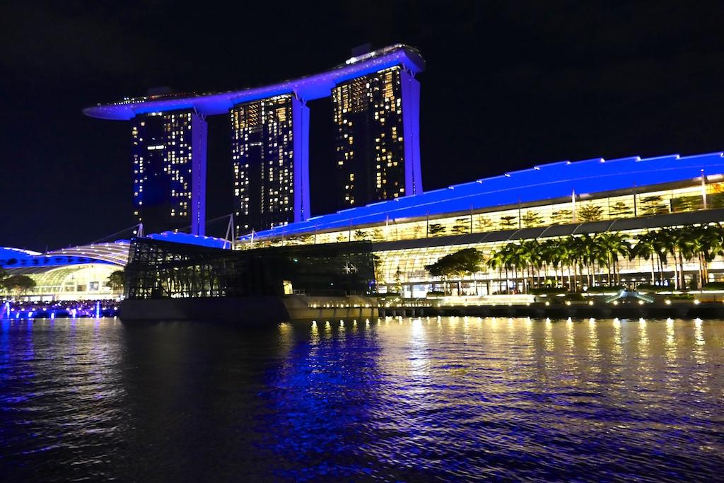 Marina Bay Sands by night