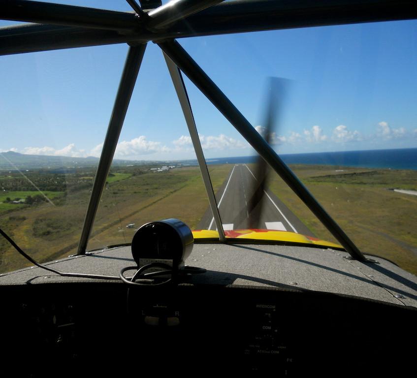 Survol en  ULM - La Réunion