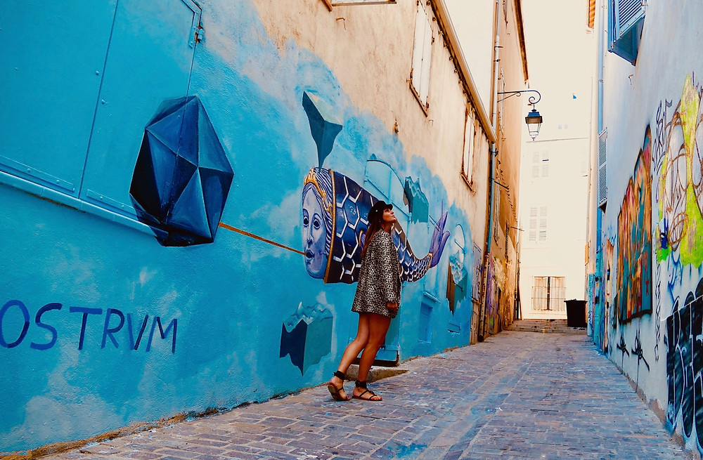 Quartier du Panier à Marseille