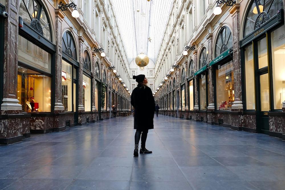 Les Galeries Royales Saint-Hubertà Bruxelles