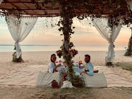 Demande en mariage romantique à Bali