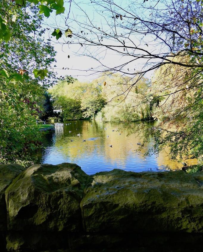 SAINT STEPHENS GREEN PARK A DUBLIN