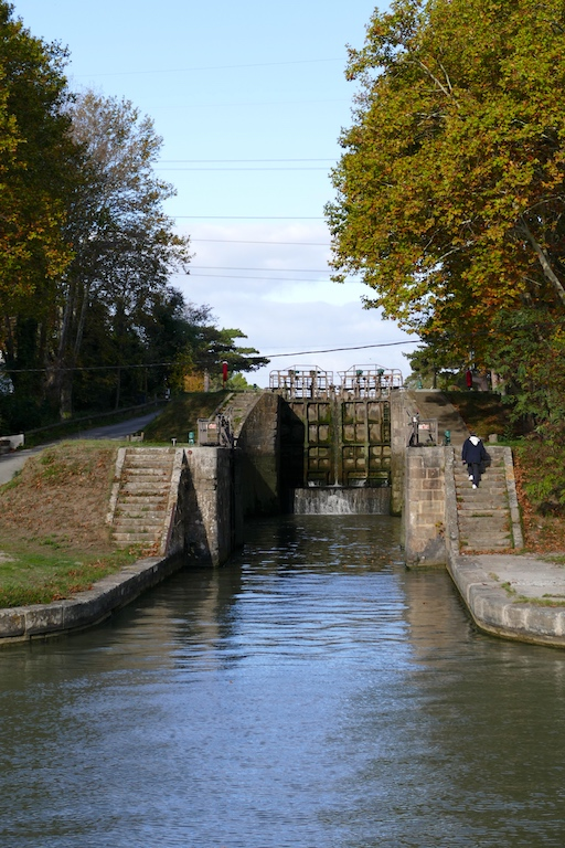 Eclusier canal du midi