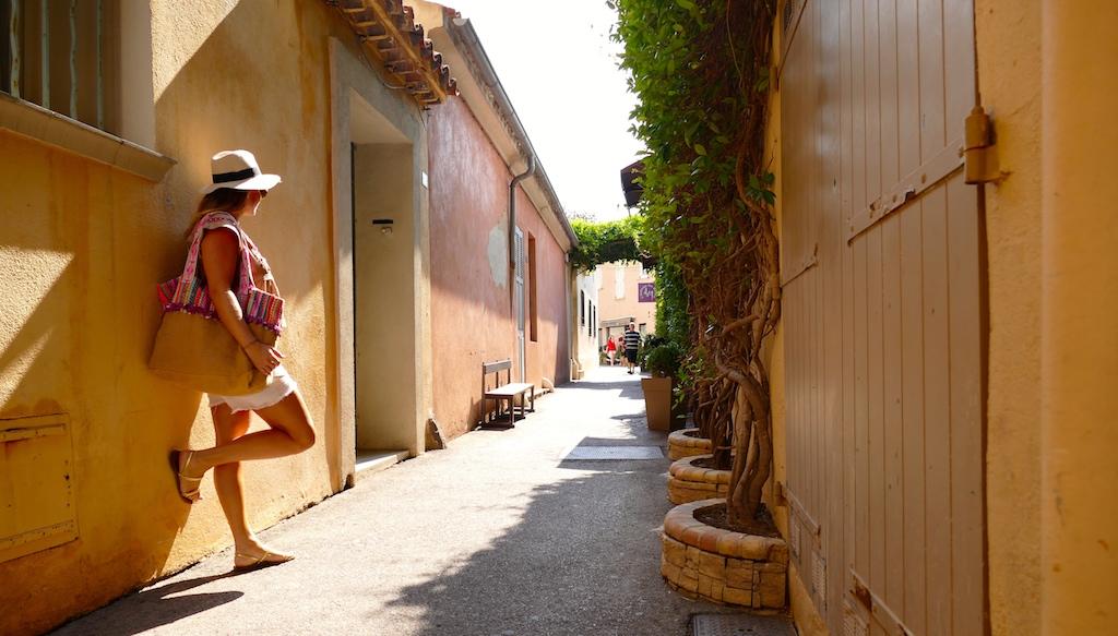 Les ruelles de Saint-Tropez