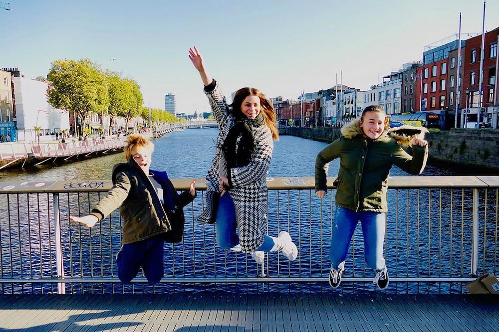 Un week-end en famille à Dublin