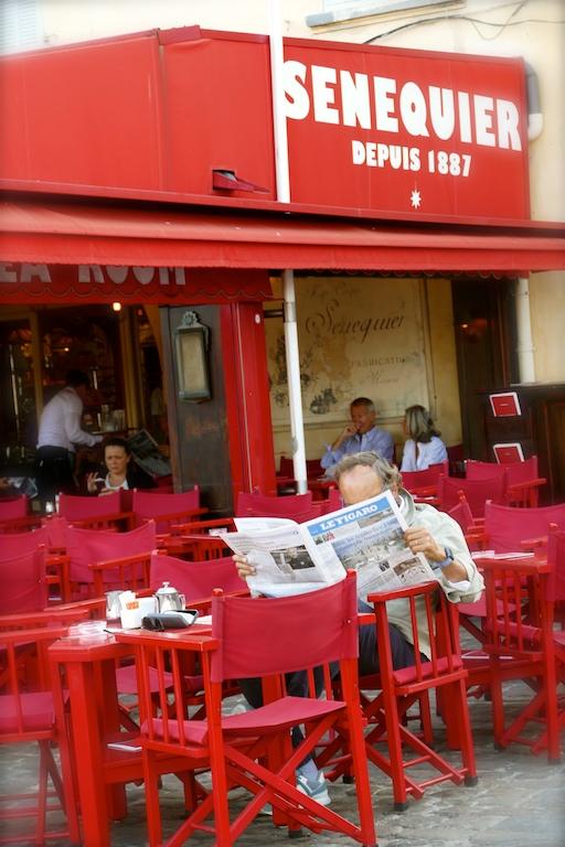 Sénéquier à Saint-Tropez