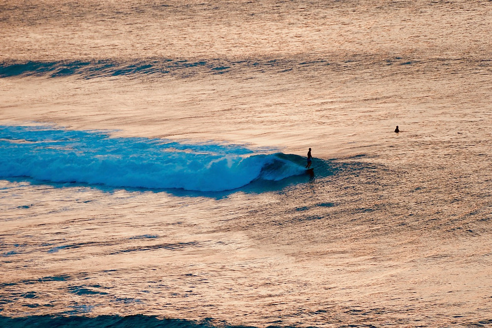 les surfeurs de Bali