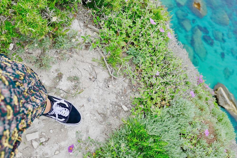 Les falaises de Bonifacio en Corse