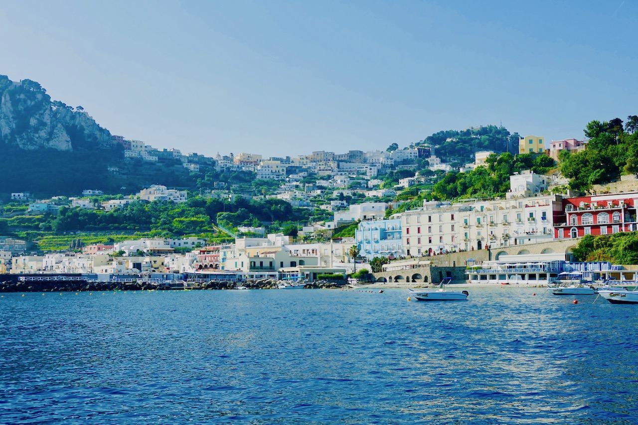 Le port de Capri