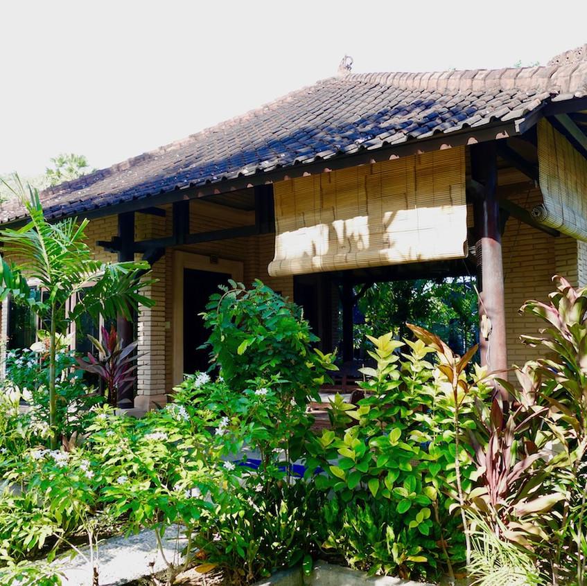 les bungalows à Amed