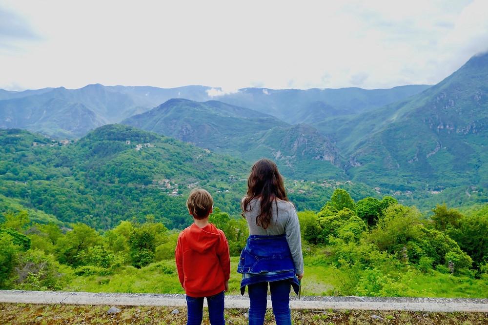 Panorama sur la Vallée de la Vésubie