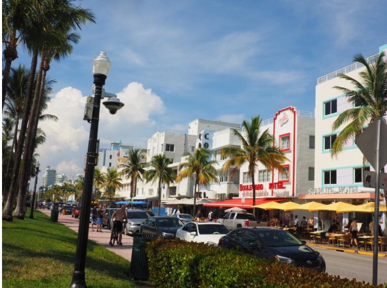 Quartier Art-déco à Miami