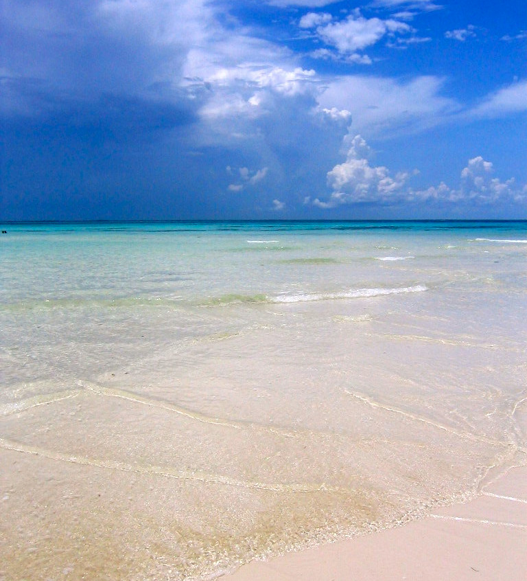 Le lagon d'Isla Mujeres