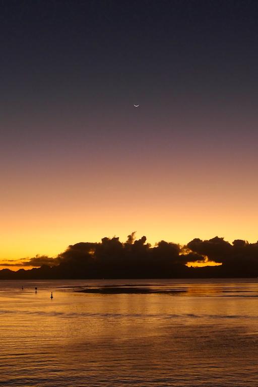 Coucher de soleil au Manava