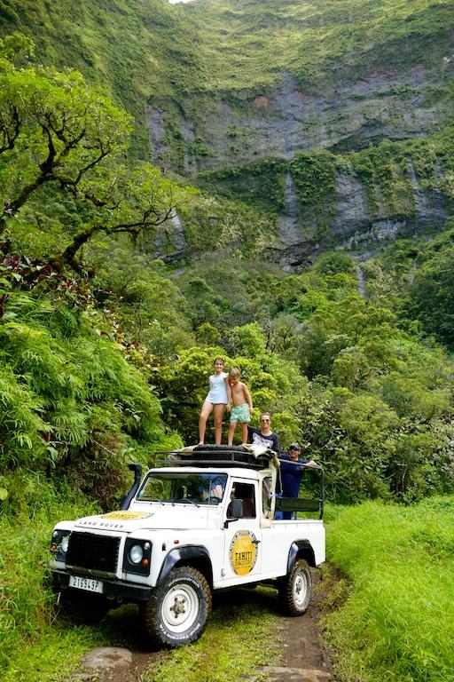 Safari dans la vallée de la Papenoo