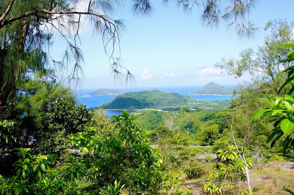 Vue panoramique de Mahé
