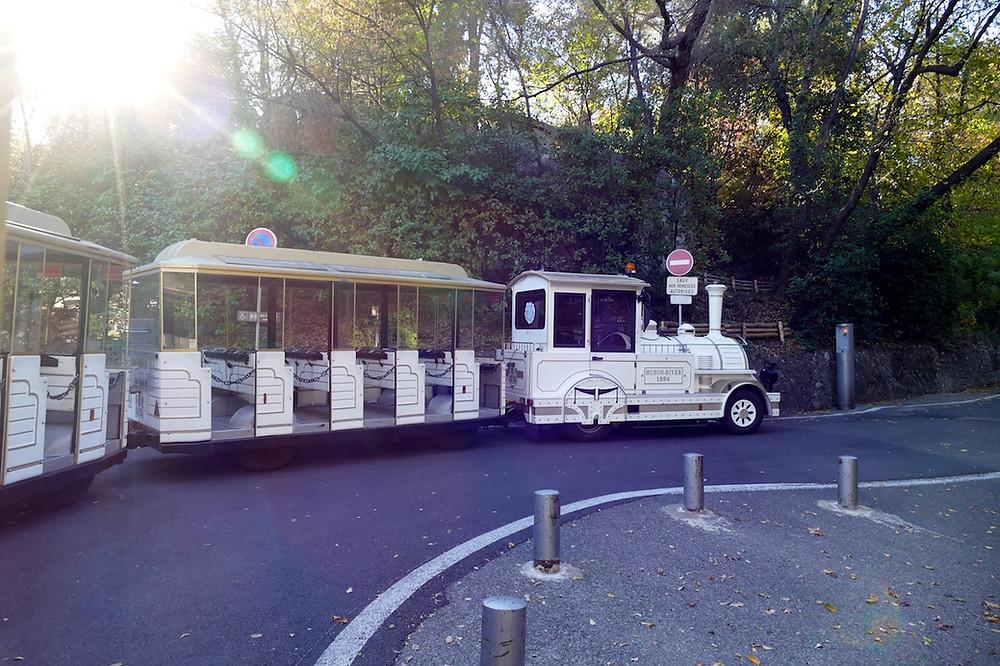 le train touristique de Nice